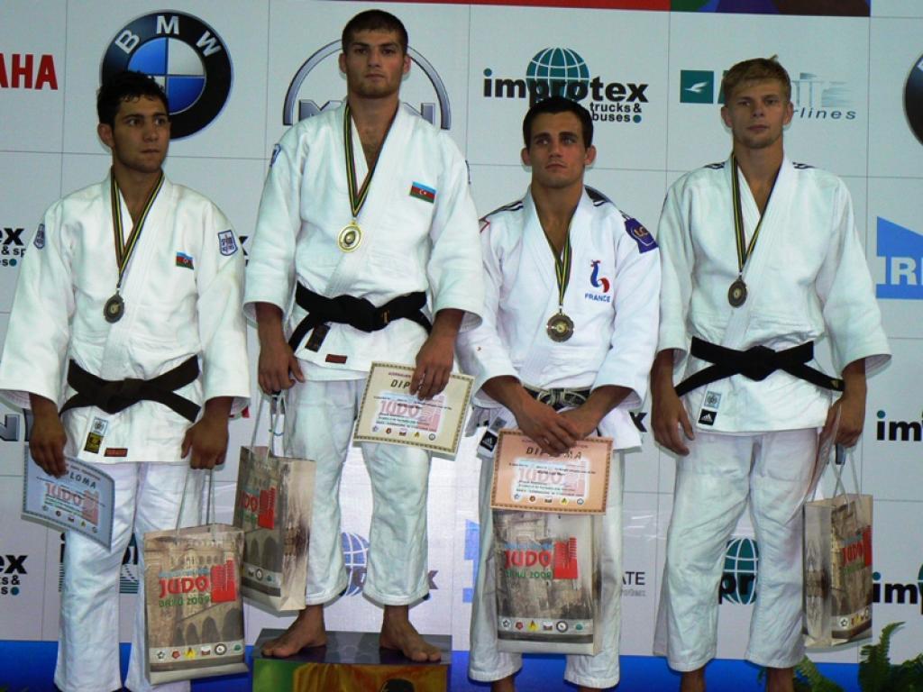 Experienced judoka offer Azerbaijan the lead in Baku