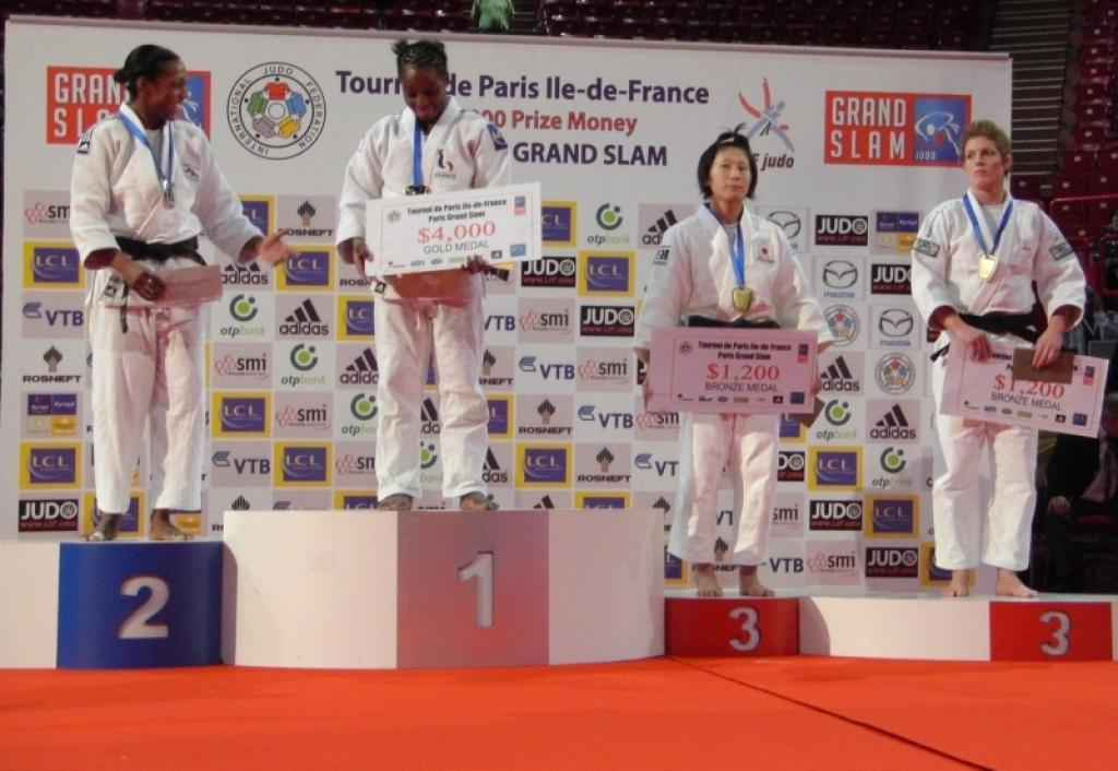 French enjoy gold medal for Gevrise Emane at GS of Paris
