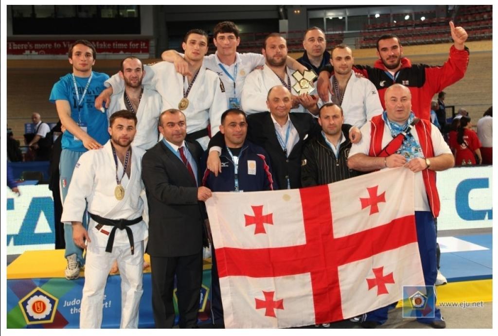 Georgia wins fourth European men's Team title