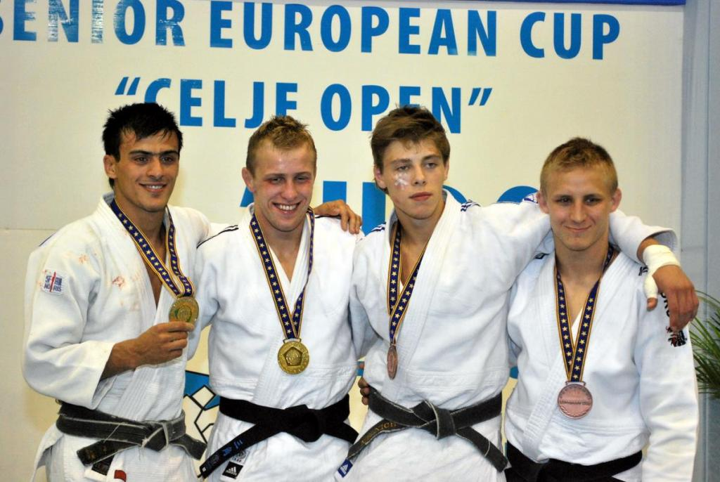 Dutch and Slovenians win most titles in Celje