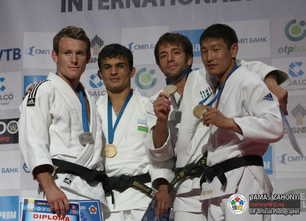 Top level judo at Grand Slam in Moscow