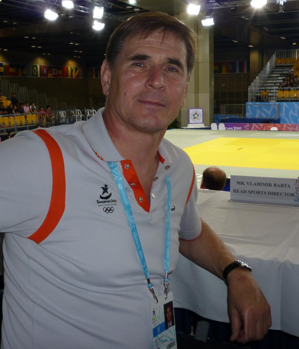 Vladimir Barta pleased with YOG organisation and level