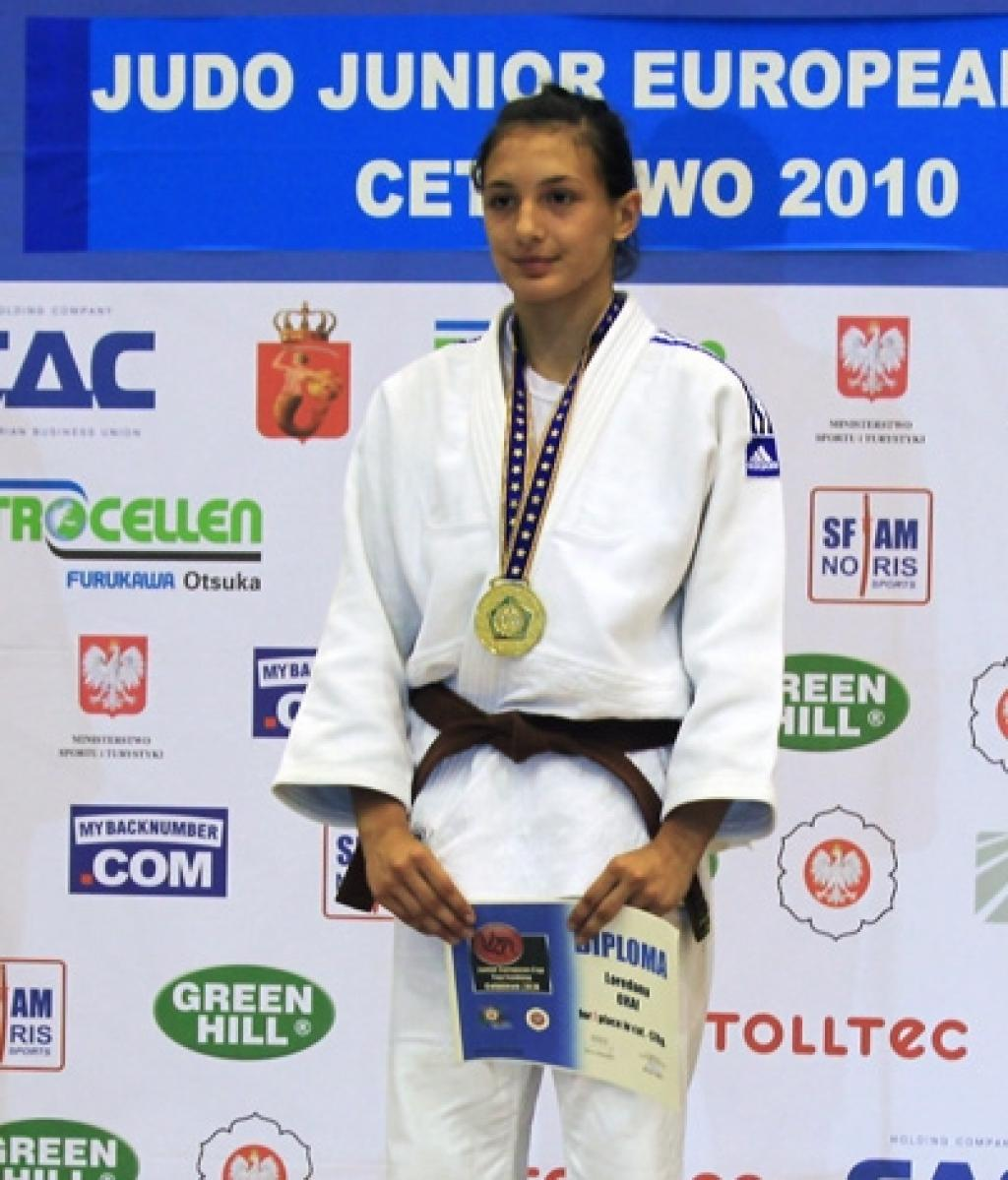 Japanese and Romanian juniors lead in Berlin