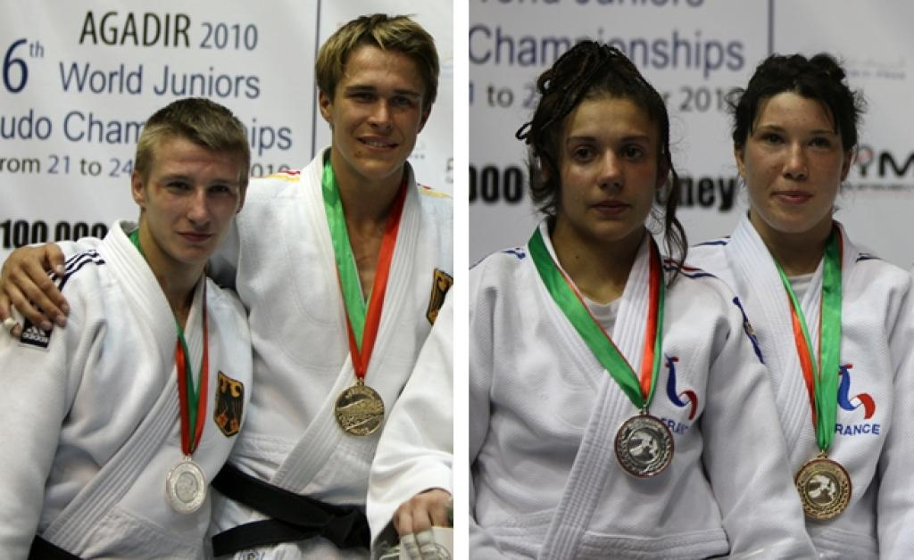 France and Germany win world titles in Agadir