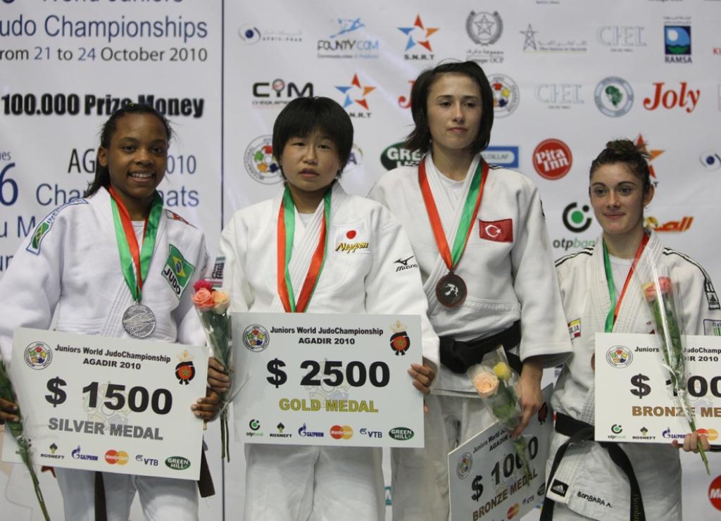 Japan dominates lightweights at junior worlds