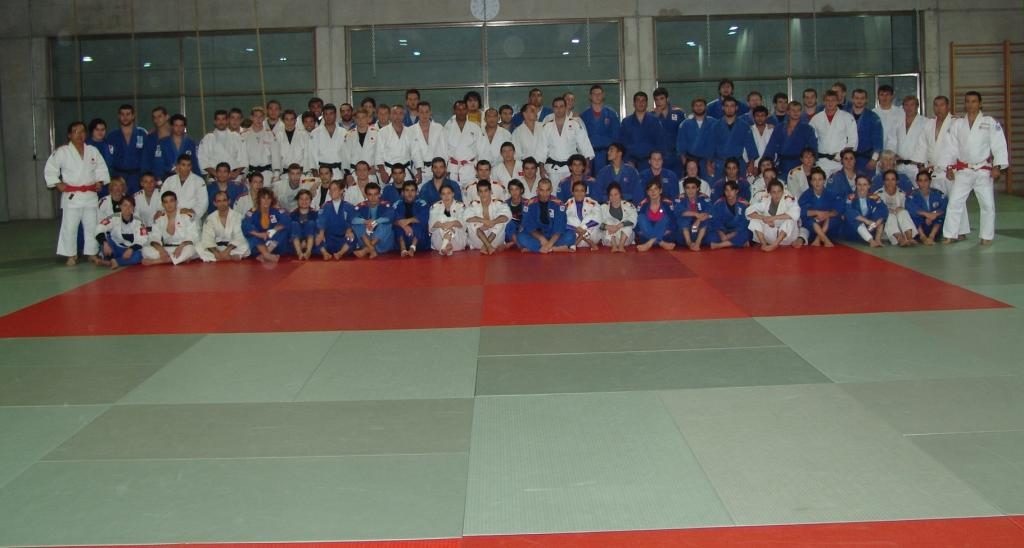 EJU Olympic Training Centre Madrid rolling out