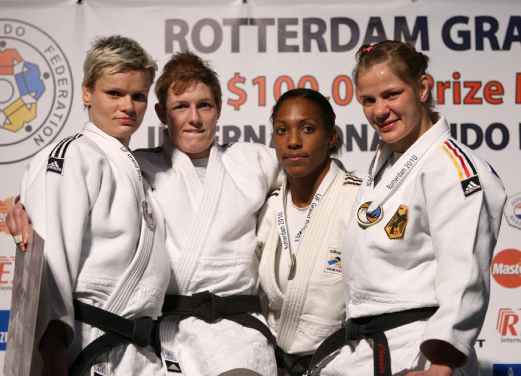 Japan leads medal tally at Grand Prix Rotterdam