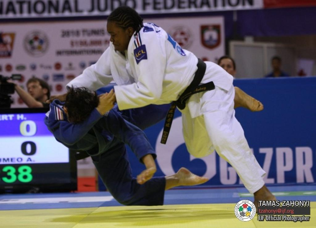 Tcheumeo captures second French gold at Grand Slam Tokyo