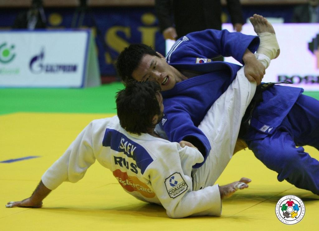 High level judo at IJF Masters in Baku