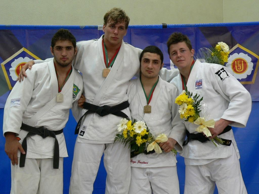 International distribution of gold medals in Coimbra