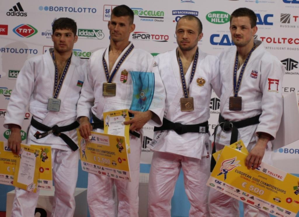Miki Ungvari wins gold at difficult day for Hungary