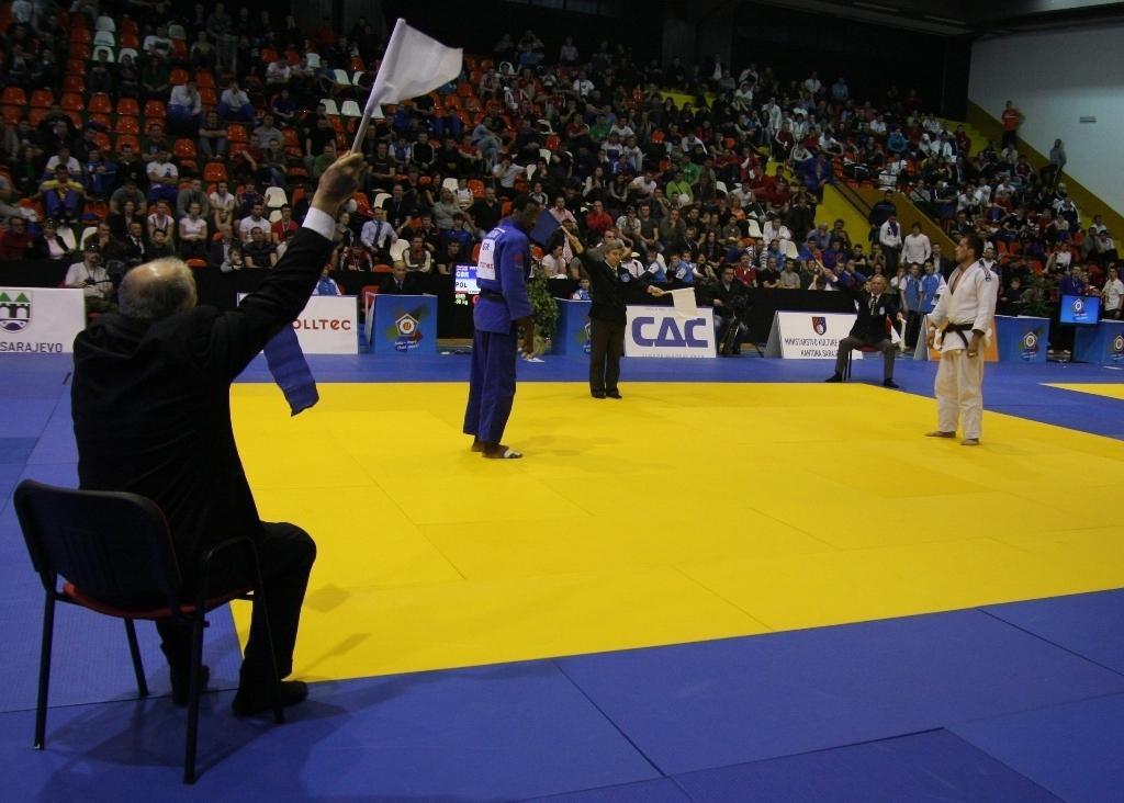 Croatia leading European Cup in Sarajevo