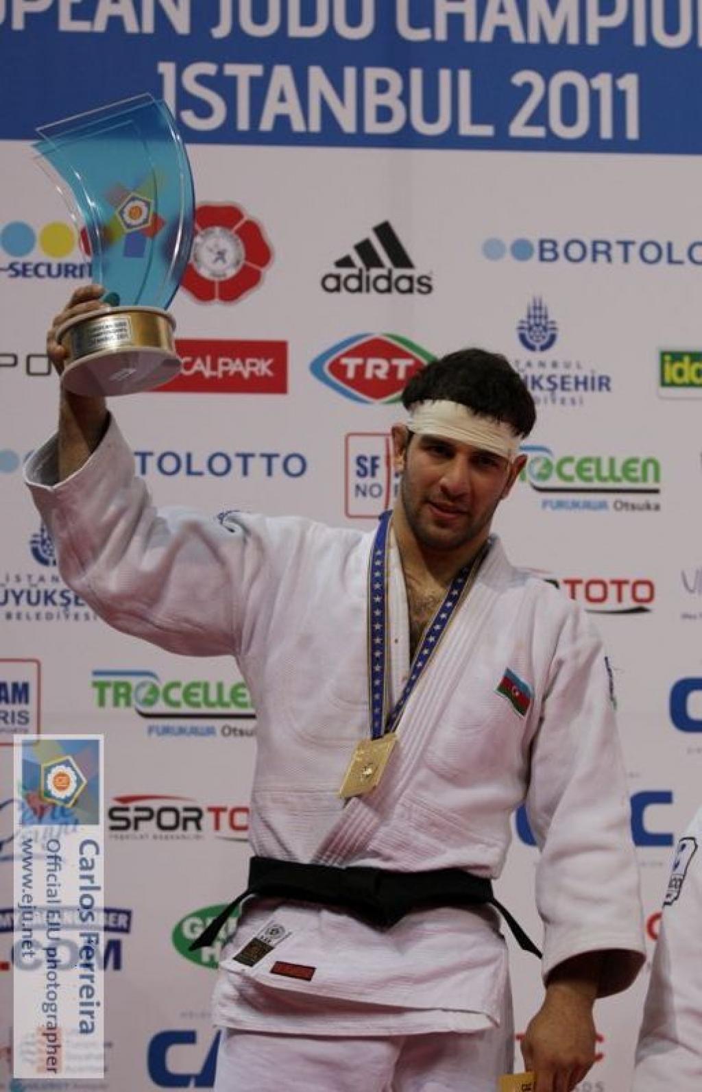 Mammadli takes European title U81kg