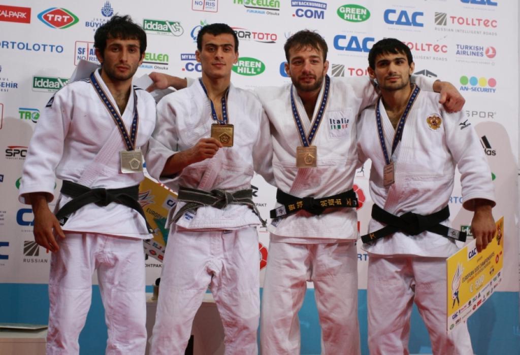 Zantaraia takes the European title U60kg