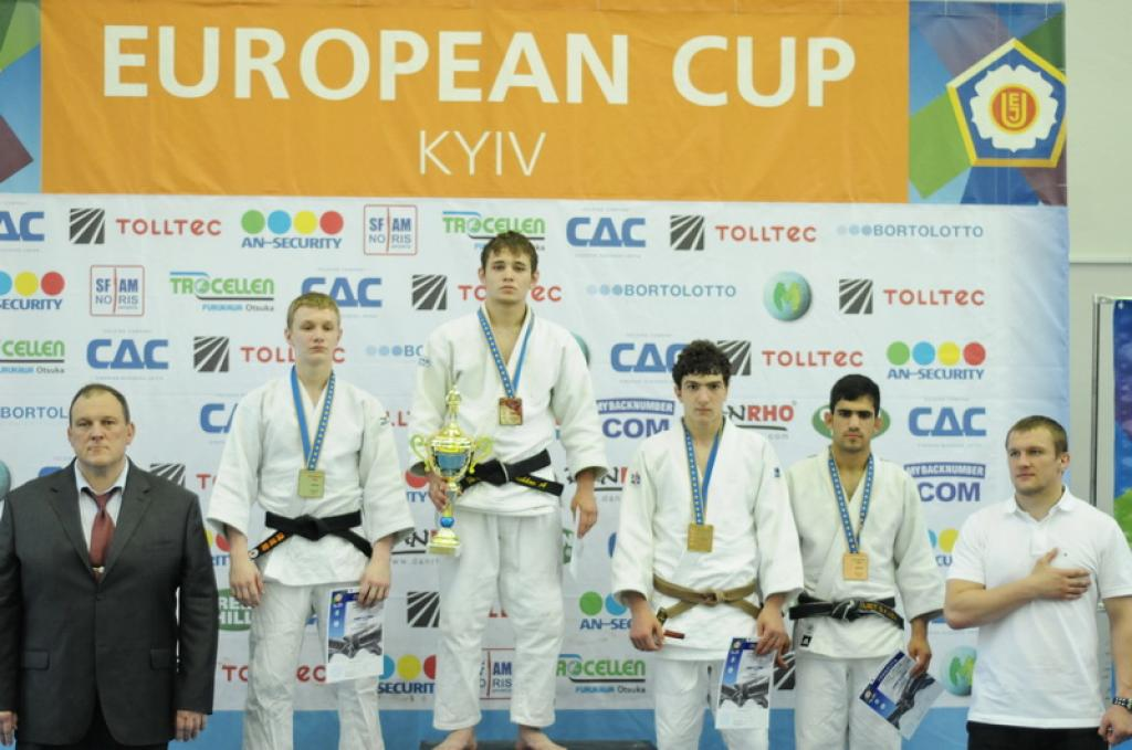 Ukrainian juniors take most of the medals at European Cup in Kiev
