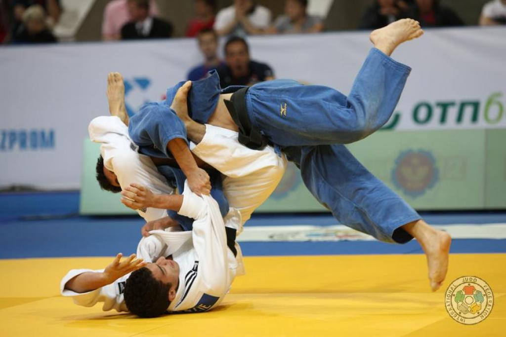 Europeans take all medals at U73kg at Grand Slam Moscow
