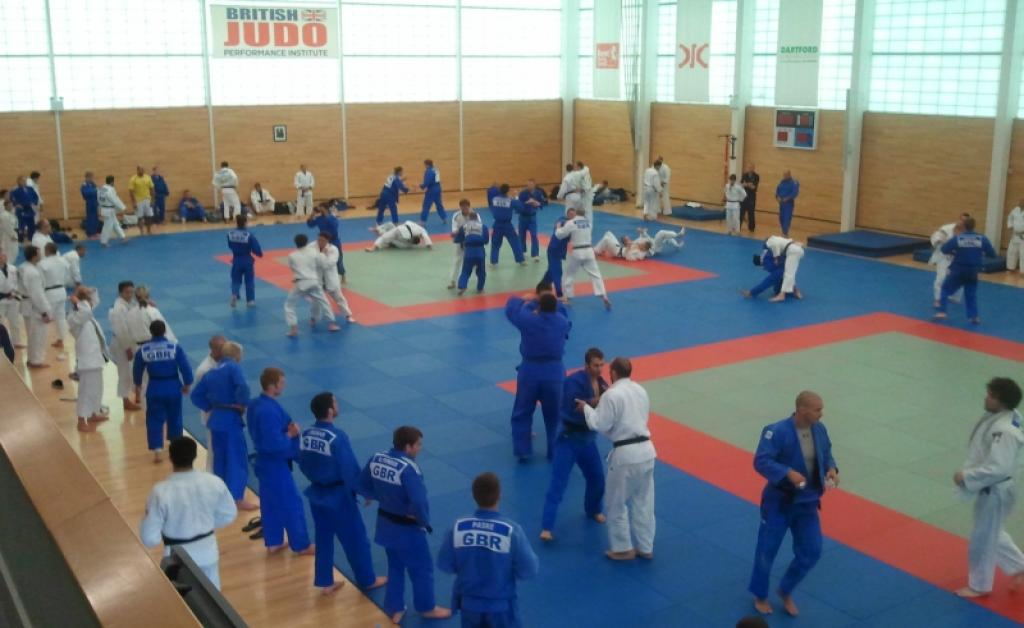 The British Judo Performance Institute in Dartford plays host to EJU OTC 'Going for Gold'