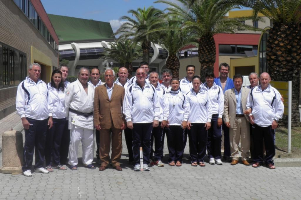 EJU Masters of Science in Teaching Judo at Ostia Rome