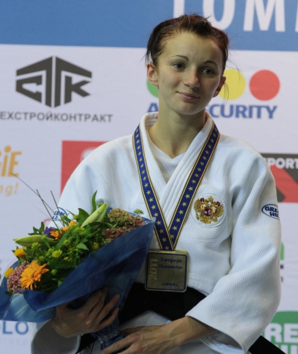 Oleksandra Demintseva wins second European title