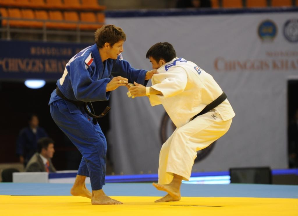 Sraka flies the flag for Europe at Mongolian World Cup