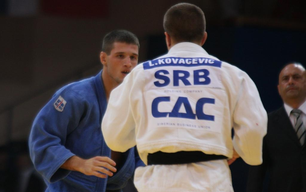 Serbia takes the lead at European Cup