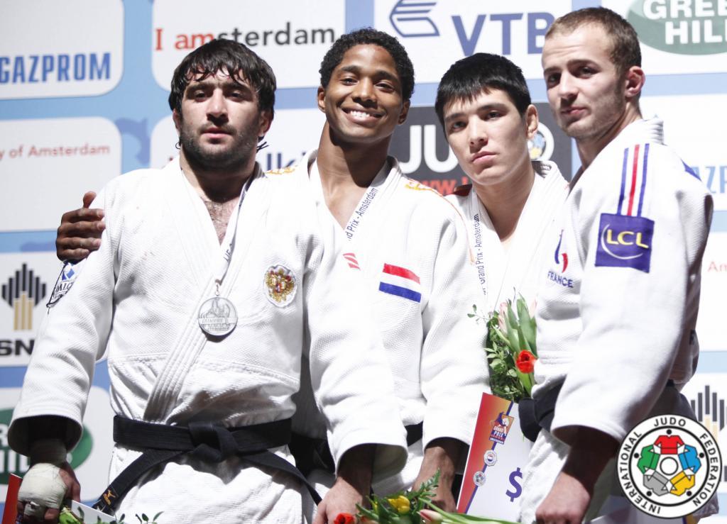 Dutch judoka shine at Grand Prix Amsterdam