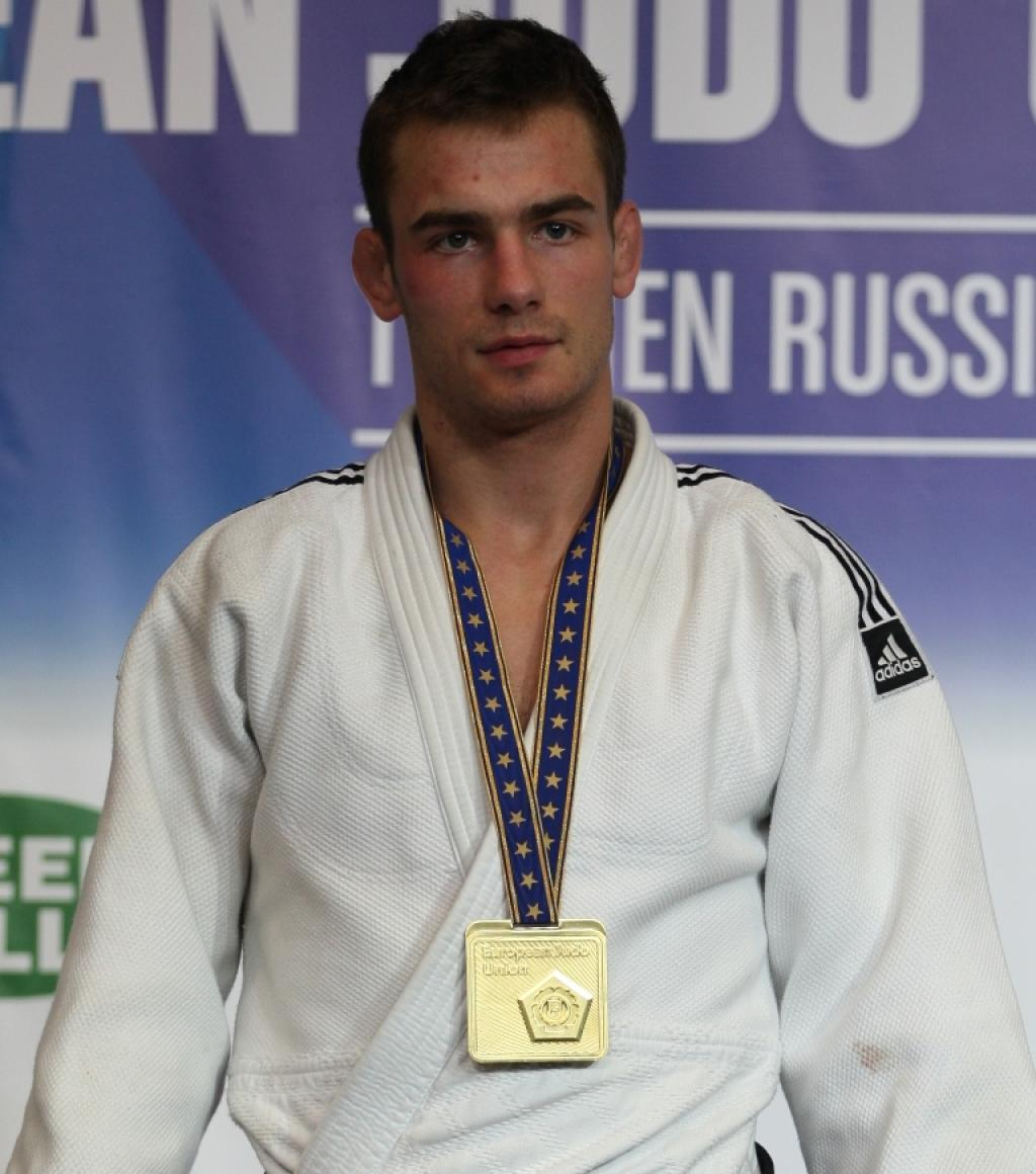 Bence Zambori collects all colours at European Championships
