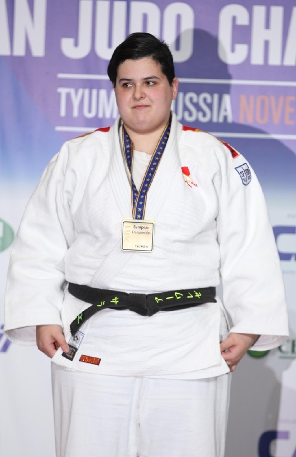 Sara Alvarez Folgueira takes another European title