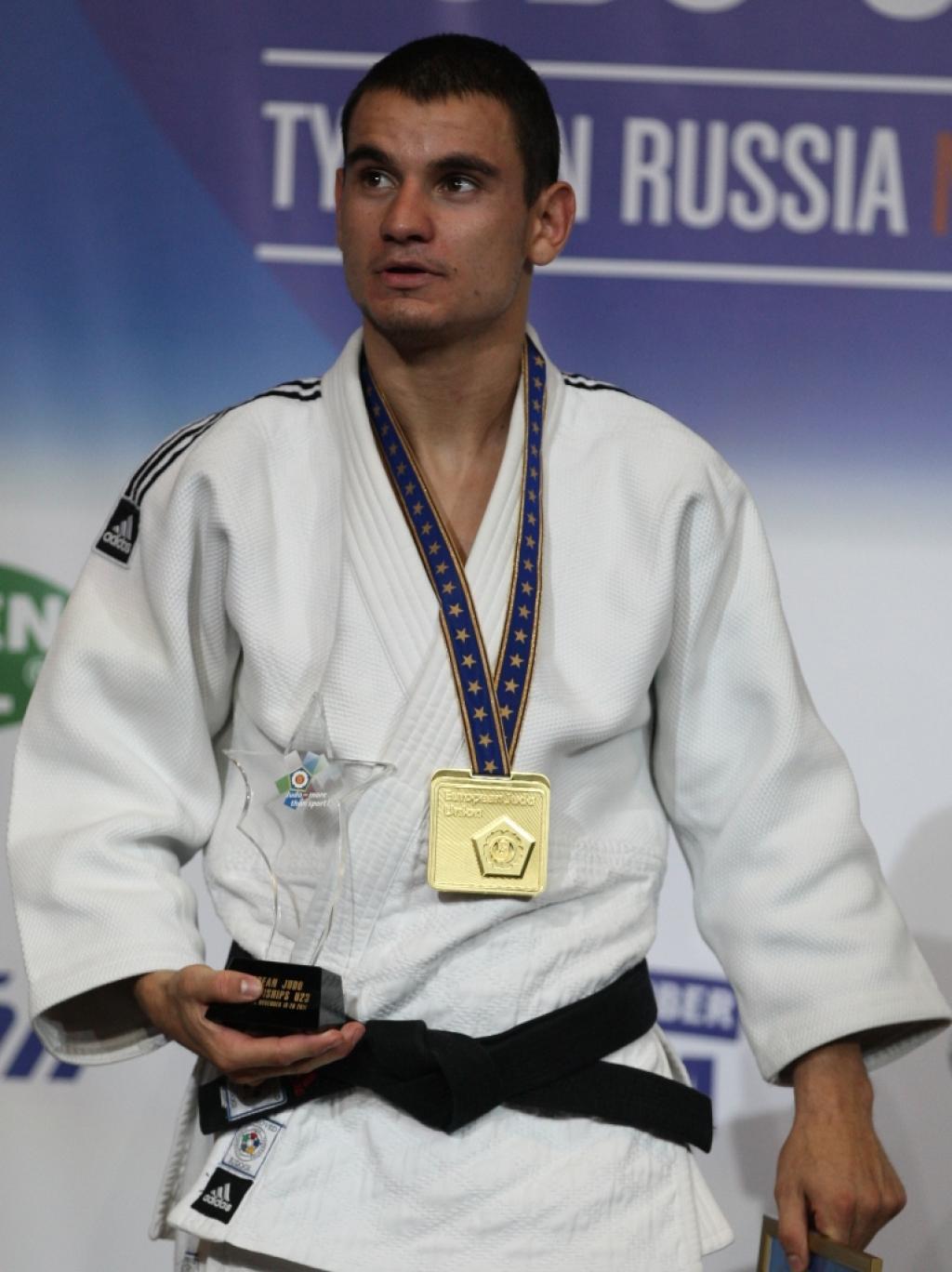 Yanislav Gerchev European Champion