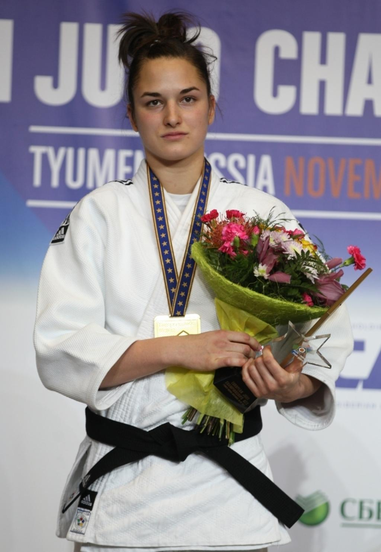 Abigel Joo collects third consecutive European U23 title