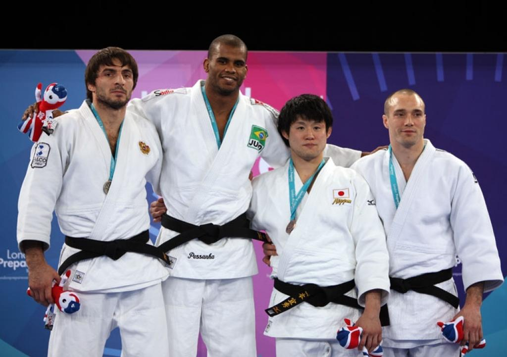 Brazil showing off at Olympic test event in London