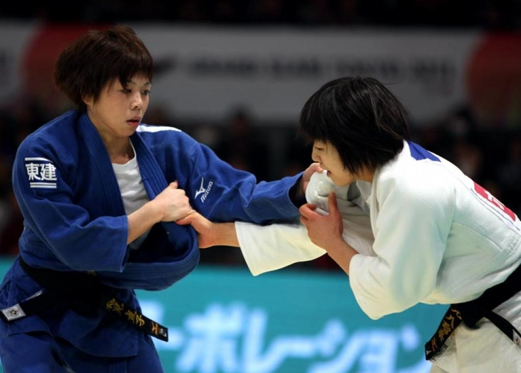 Japan rules at first day of Grand Slam Tokyo