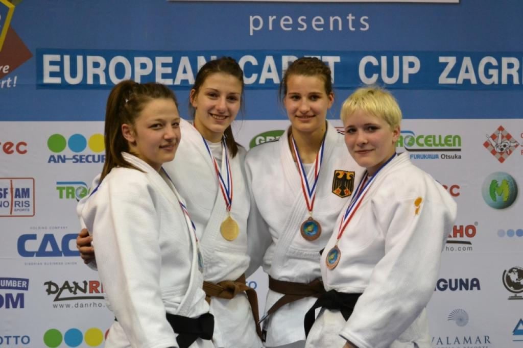 Croatia celebrates two gold medals at European Cup