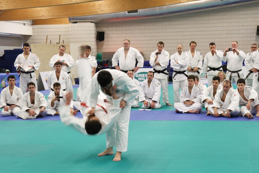 250 kata experts in Lignano for EJU Kodokan Seminar