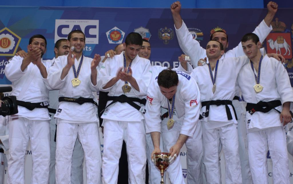 Georgian team claims third European title