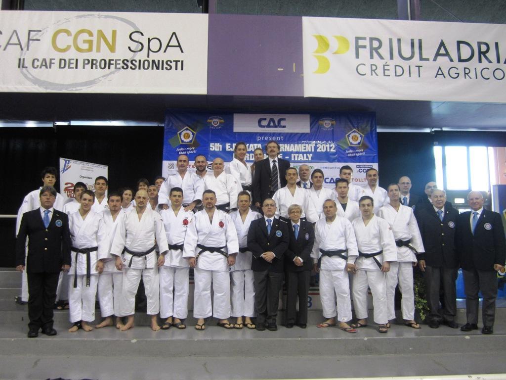 Italian domination in the 5th EJU Kata Tournament in Pordenone
