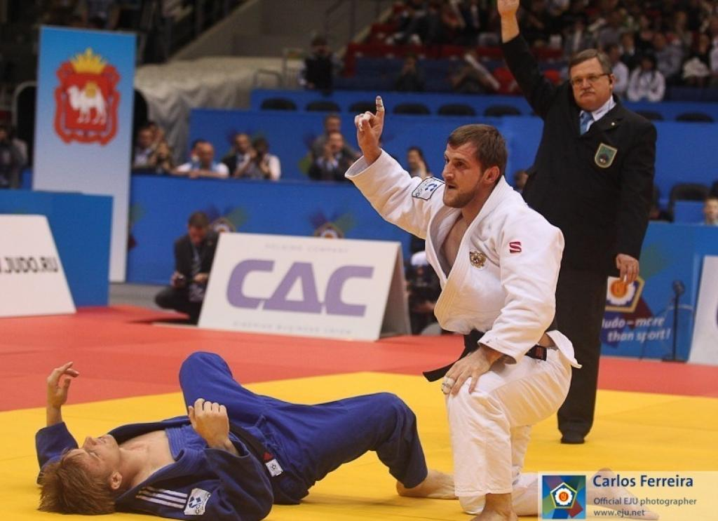 Magomedov pretty sure of Olympics after second European title