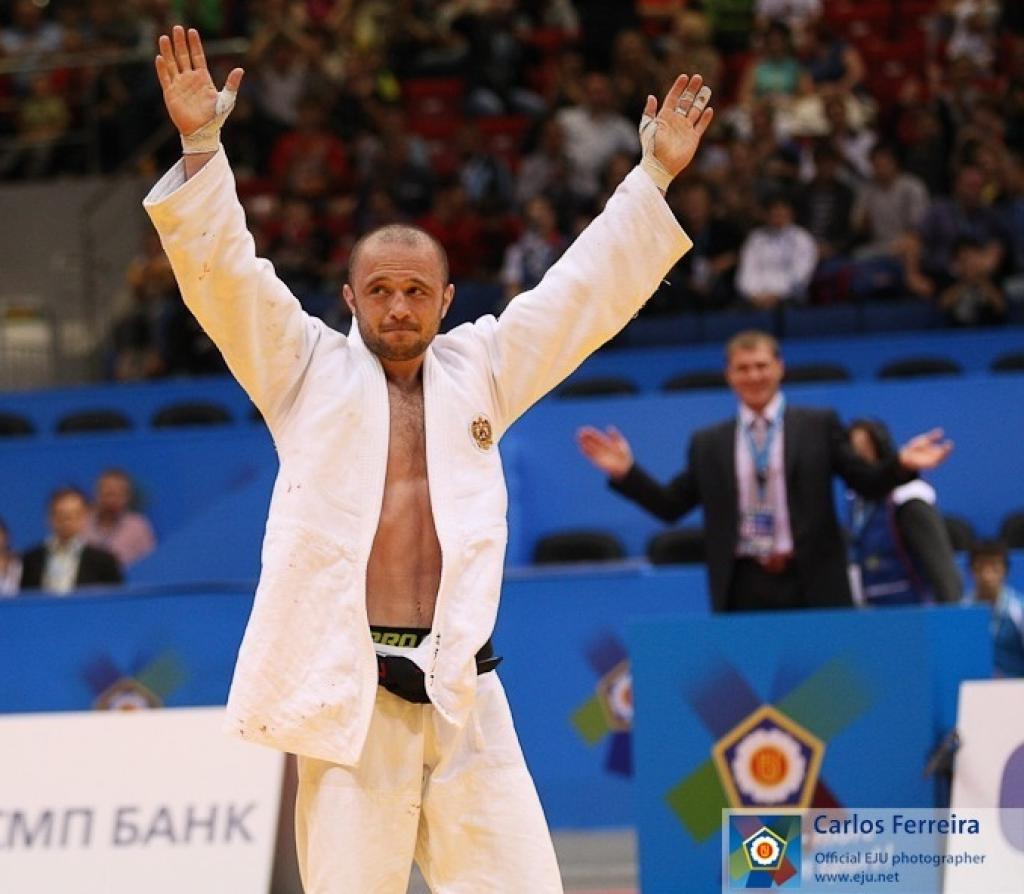 Gadanov wins first European title in Russia