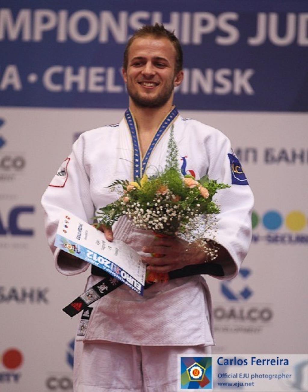 Ugo Legrand makes French history U73kg