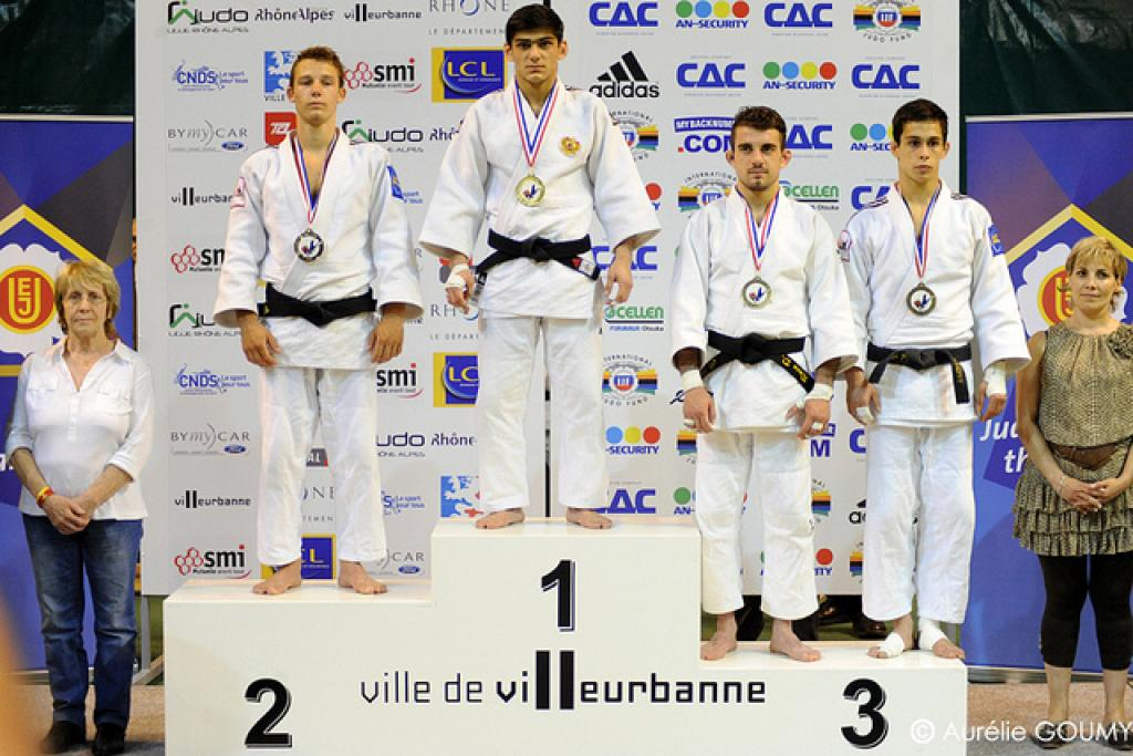 Strong judoka participate at European Cup U20 in Lyon