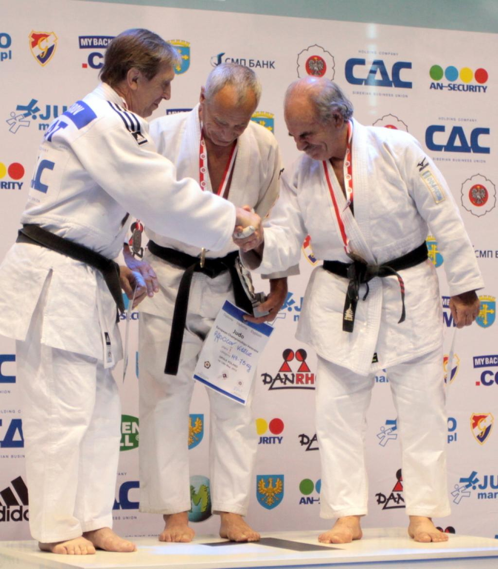 Beautiful judo spectacle at European Veteran Championships