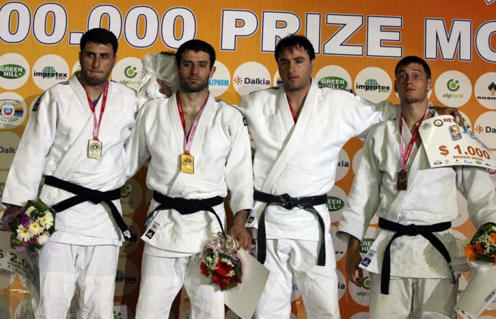 Azeri judoka win Grand Prix Baku
