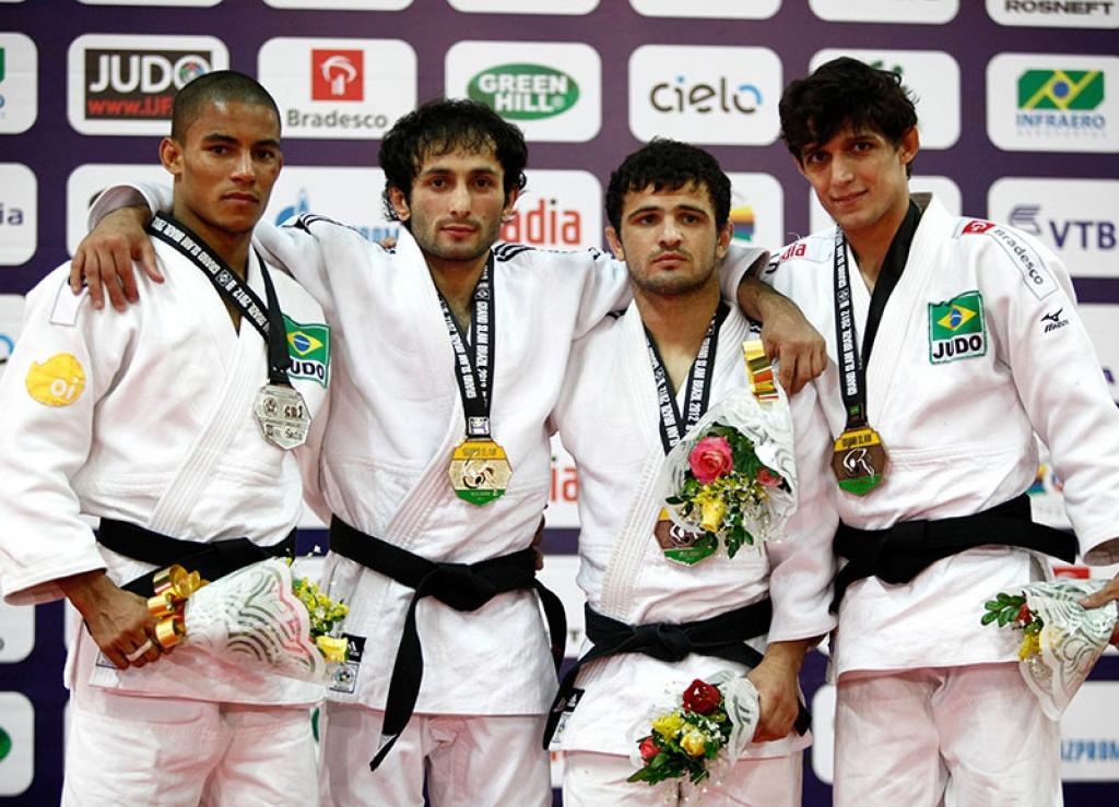 Three European gold medals at Grand Slam Rio de Janeiro