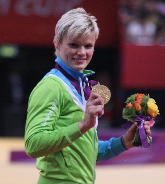 Urska Zolnir claims historic Olympic title