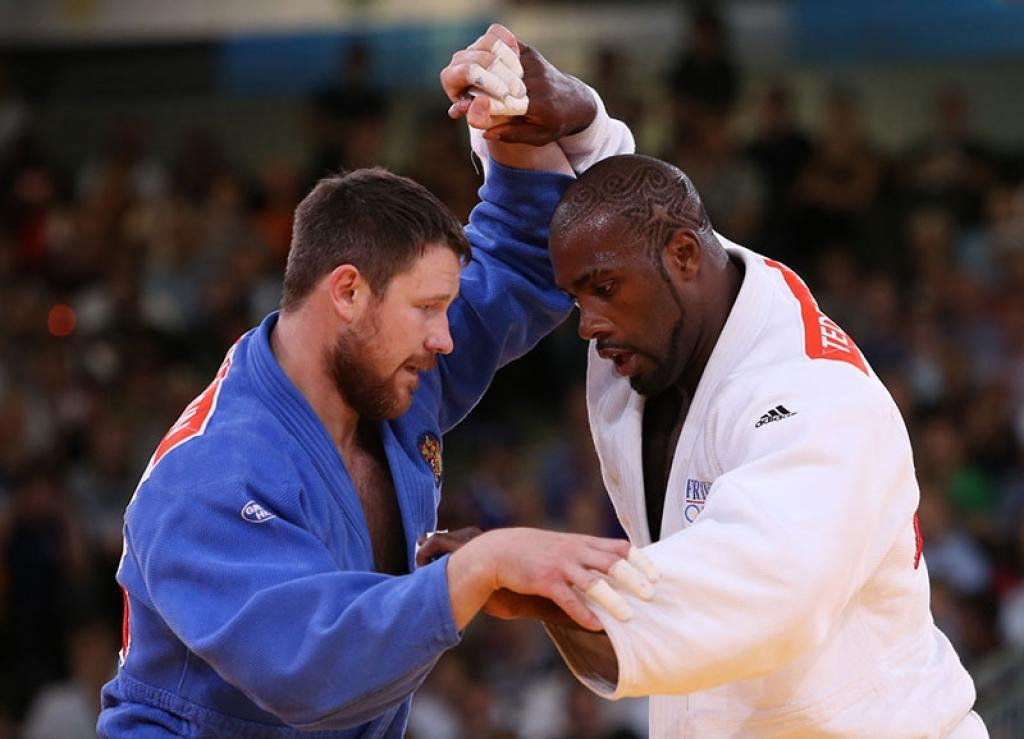 Teddy Riner finishes amazing Olympic Games with gold for Europe