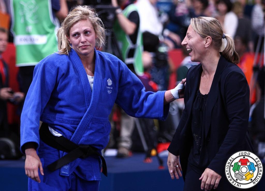 Gemma Gibbons new idol of British judo