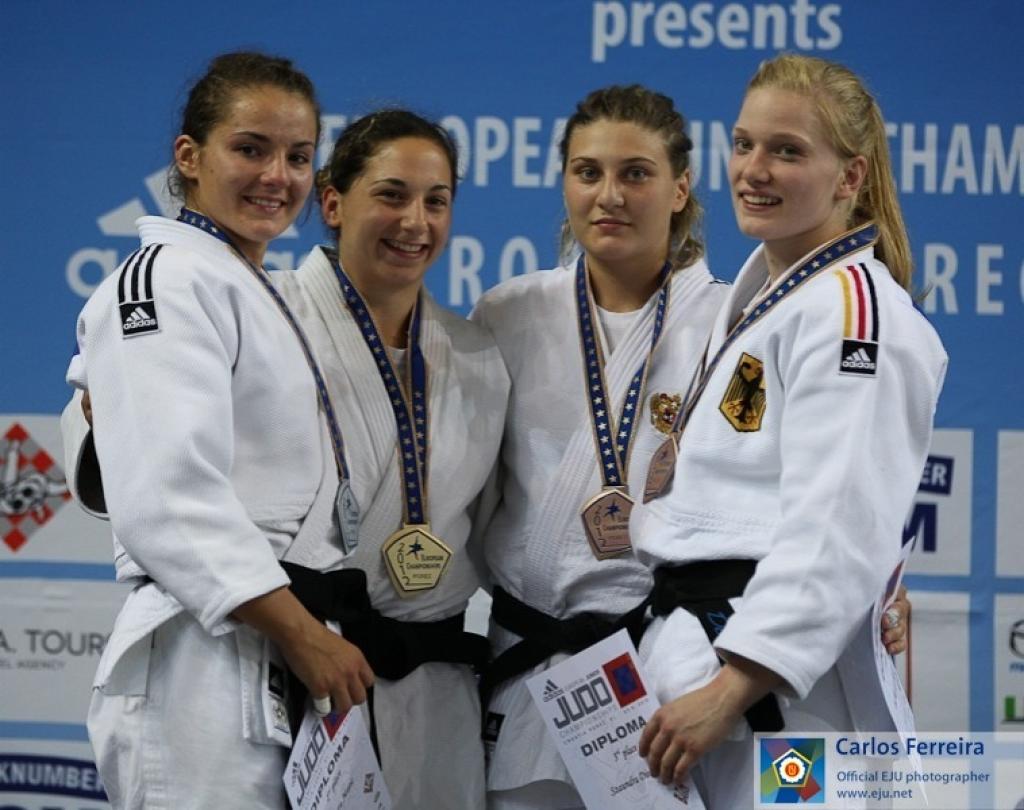 Lola Mansour surprises herself, Belgium and Matic in European final U70kg