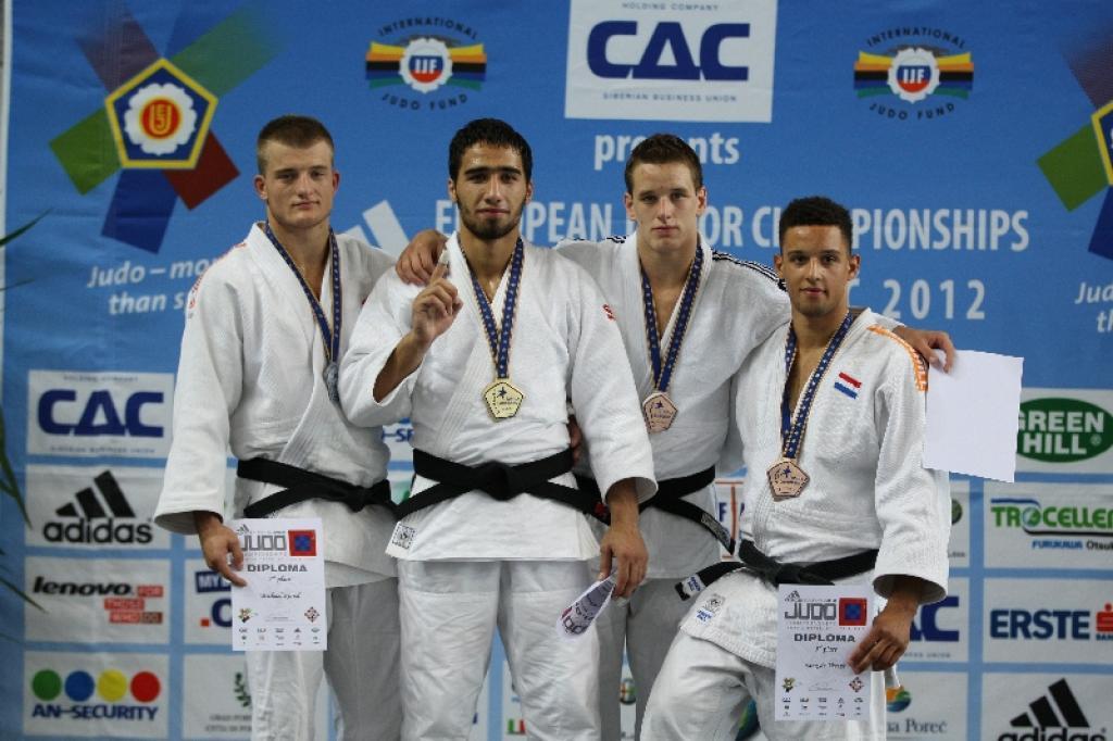 Khusen Khalmurzaev prolongs European title U90kg