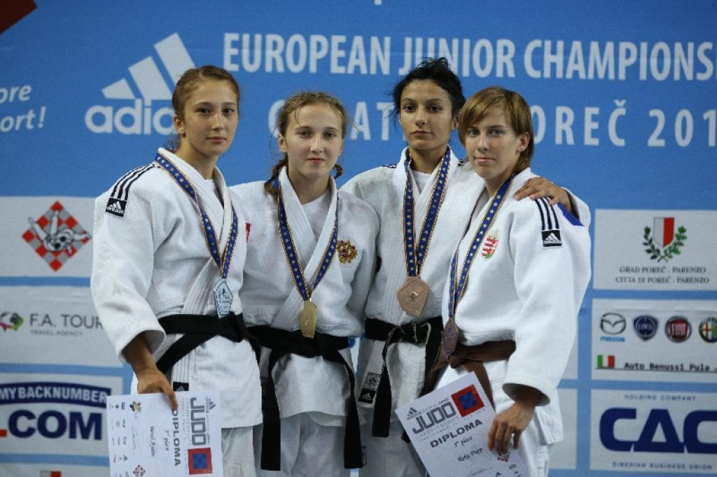 Irina Dolgova also claims European Junior title