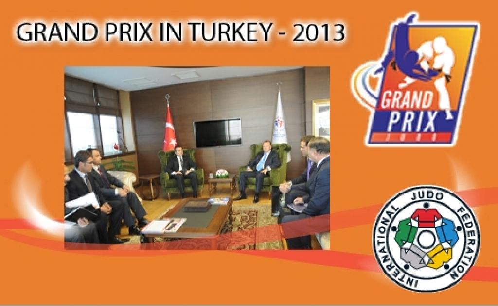 IJF Grand Prix to be held in Turkey in 2013